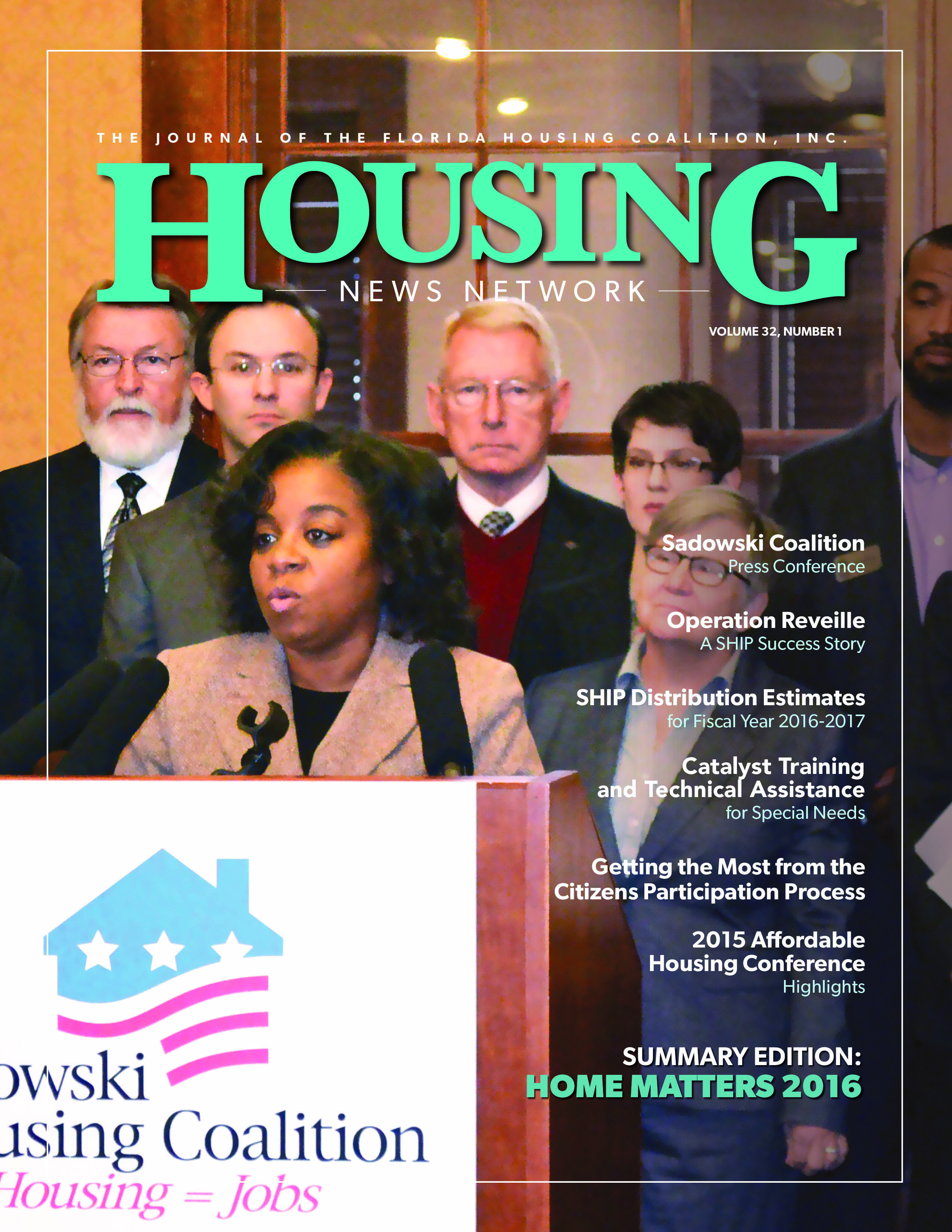 Housing News Network, Vol. 32, No. 1